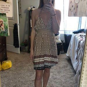 backless dress!!